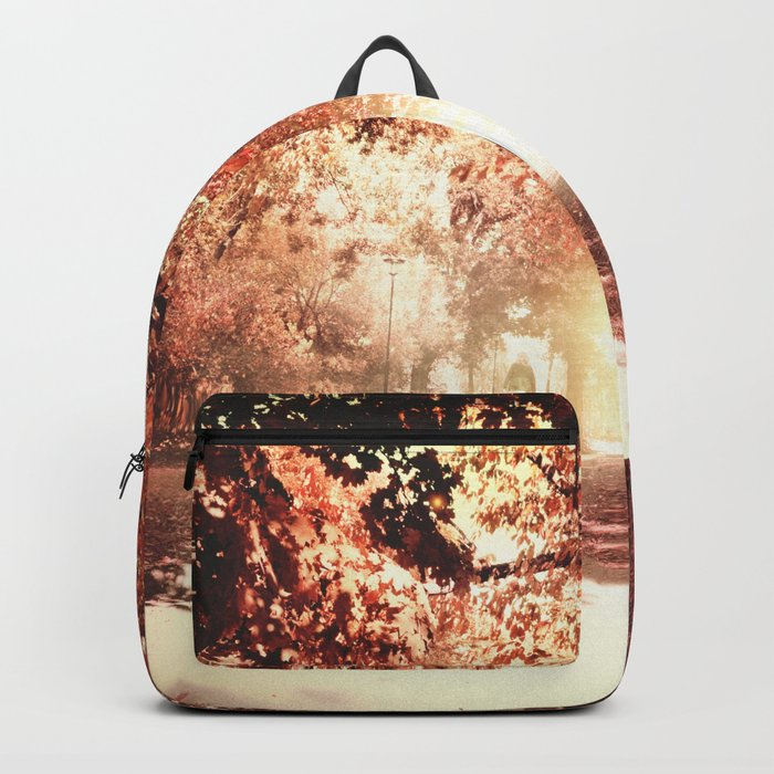 Autumn fall Backpack