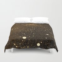 interstellar Duvet Covers featuring interstellar by D /graphic design & illustration/