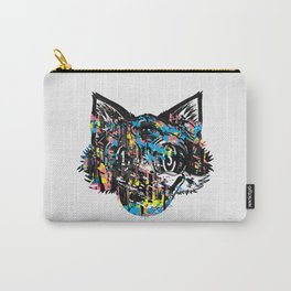 The Creative Cat (color varient) Carry-All Pouch