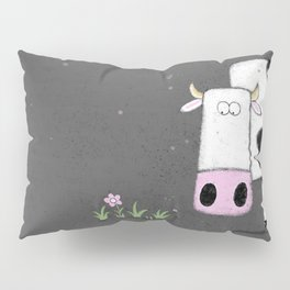 Cute animal Illustration Cow Pillow Sham