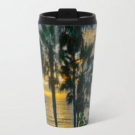 Sunset Through the Palms, Laguna Beach Travel Mug