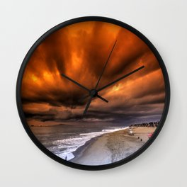 A Southern California Sunset Wall Clock