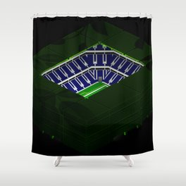 The Voyager Shower Curtain