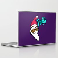 kris tate Laptop & iPad Skins featuring Kris Pringle by Chelsea Herrick
