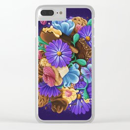 SWEETS & FLOWERS Clear iPhone Case