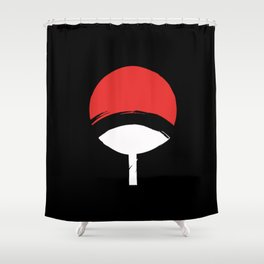 Uchiha Clan Shower Curtain