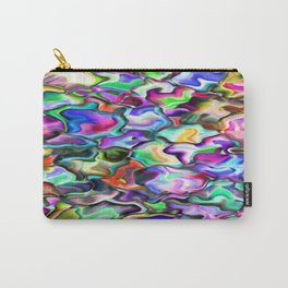 unusual abstract art design background Carry-All Pouch
