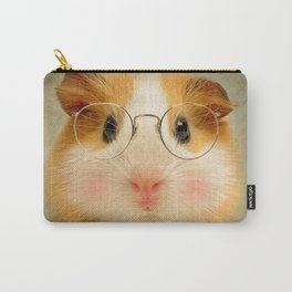 Guinea Pig - Little Shirley Tweedle Carry-All Pouch