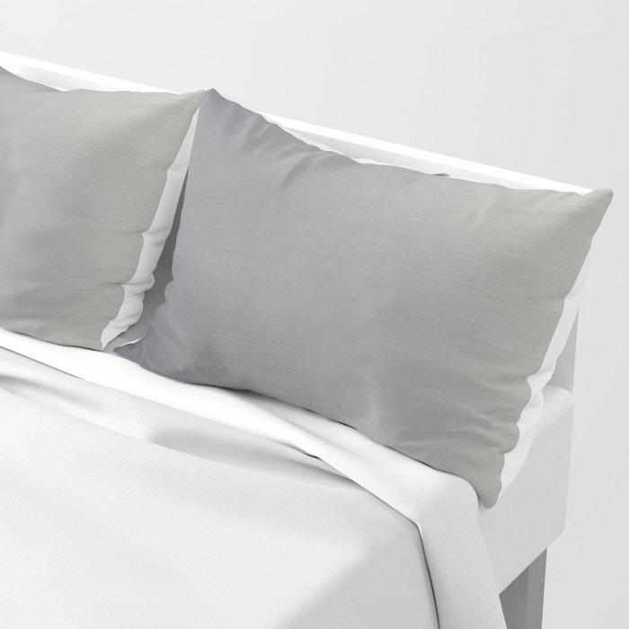 Brushed Metal Pillow Sham