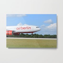 Air Berlin Metal Print