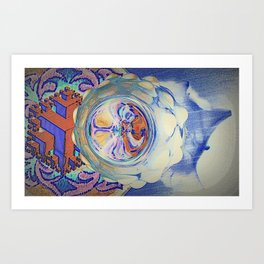 Trippy Jarplay Art Print