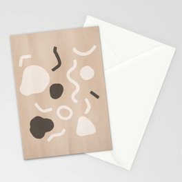 Abstract Confetti Stationery Cards