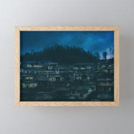 Laodong Miao Village outside of Fenghuang, China Framed Mini Art Print