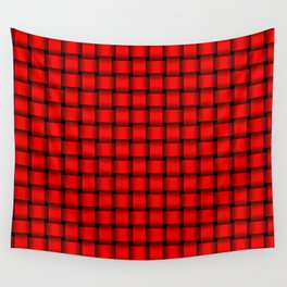 Small Red Weave Wall Tapestry