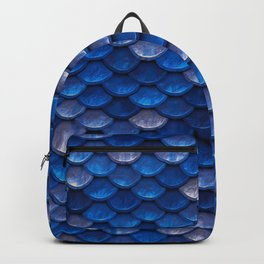 Blue Penny Scales Backpack