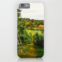 New England Apple Orchard iPhone Case
