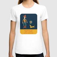 dachshund T-shirts featuring Dachshund by Ariel Wilson