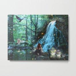 Forestsphere Metal Print