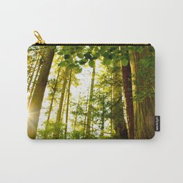 Something 'Bout The Sun Between The Trees Carry-All Pouch