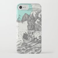 pirates iPhone & iPod Cases featuring Pirates by Zeke Tucker