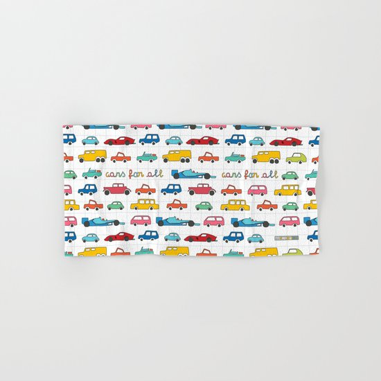 Cars for all Hand & Bath Towel