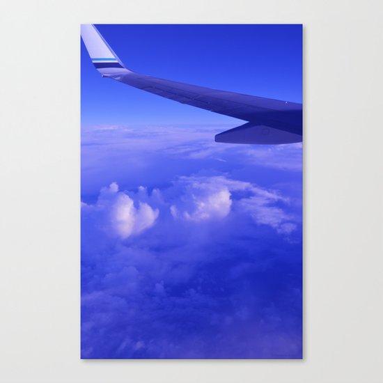 Aerial Blue Hues II Canvas Print