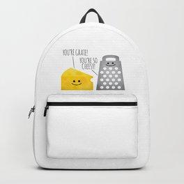 Cheesy Couple Backpack