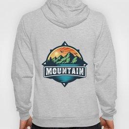 Mountain Logo Adventure Outdoor Logo Design Hoody