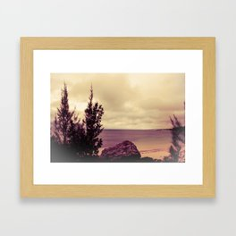 Scene From a Movie Framed Art Print