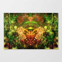 Extraterrestrial Palace 4 Canvas Print