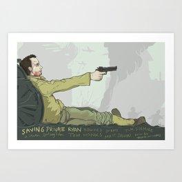 Saving Private Ryan Art Print