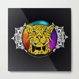 Forever Wild- The Jaguar Metal Print
