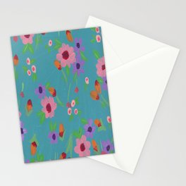 Spring in Blue Stationery Cards