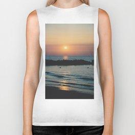 Sunset Ocean Bliss #1 #nature #art #society6 Biker Tank