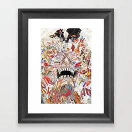 KN/PC: Infinite Jest Framed Art Print