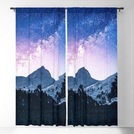 Celestial Glaciations Blackout Curtain