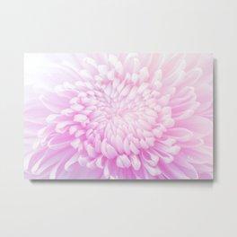 pastel pink bloom #society6 #buyart #homedecor Metal Print