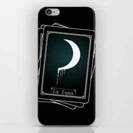 Luna Tarot Card iPhone Skin