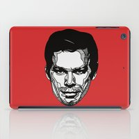 dexter iPad Cases featuring Dexter by Dylan Morang