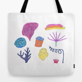 sea flora Tote Bag