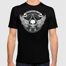 Love/War Mens Fitted Tee Black X-LARGE