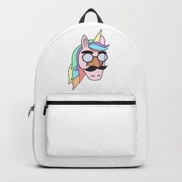 Unicorn Mask People Glasses Beard halloween Dress Up Carnival Kids Gift Idea Backpack