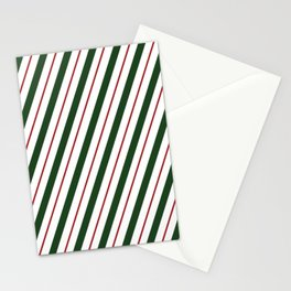 Peppermint Candy Cane Stationery Cards