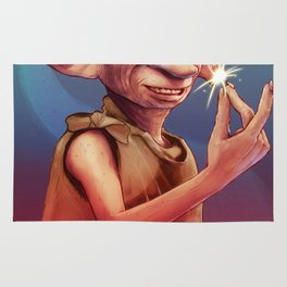 Dobby the House Elf by Big Foot Studios Rug