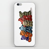 cuddle iPhone & iPod Skins featuring Cuddle by Friederike Ablang