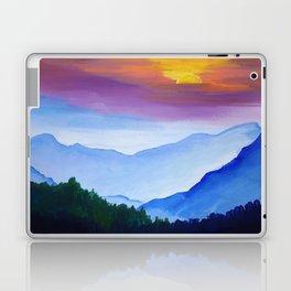 Smokey Mountain Sunset Laptop & iPad Skin