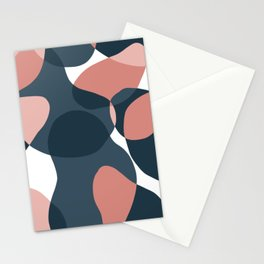 Abstract Modern Century Art Stationery Cards