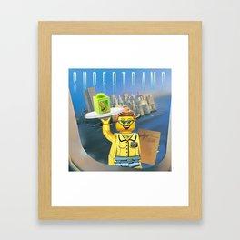 Breakfast in Legoland Framed Art Print