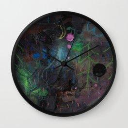 Midnight  Garden cycle23 2 Wall Clock