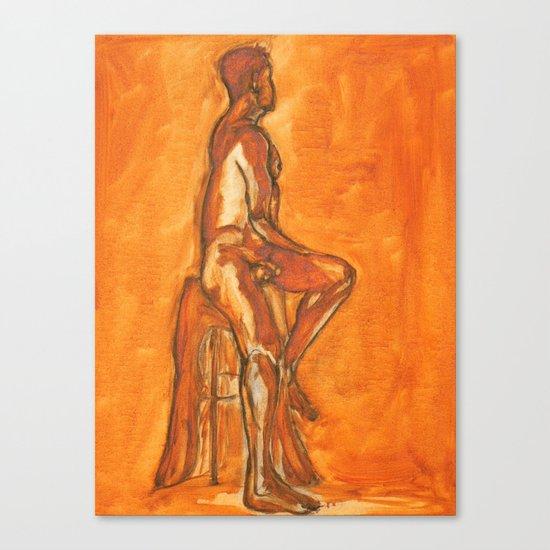 Simple Nude Canvas Print